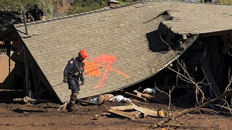 Frustration mounts for mudslide-ravaged California town known for luxury and calm