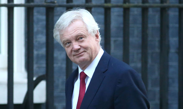 It's a 'DESPERATE strategy': David Davis blasts Treasury for trying to sabotage Brexit