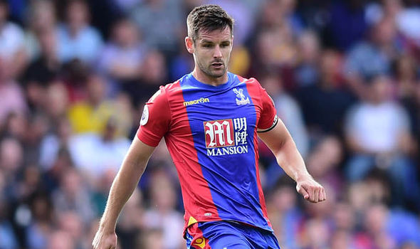 Crystal Palace to be without top scorer Scott Dann for next two matches through injury