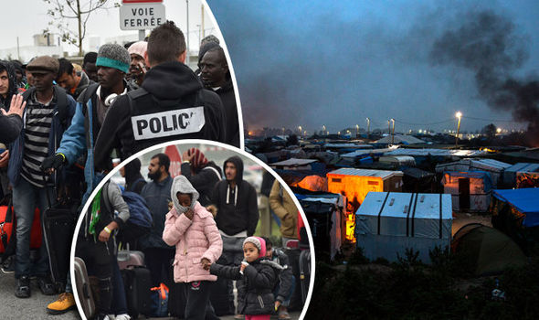 New migrant shambles in Calais: More camps WILL appear in weeks after Jungle destruction