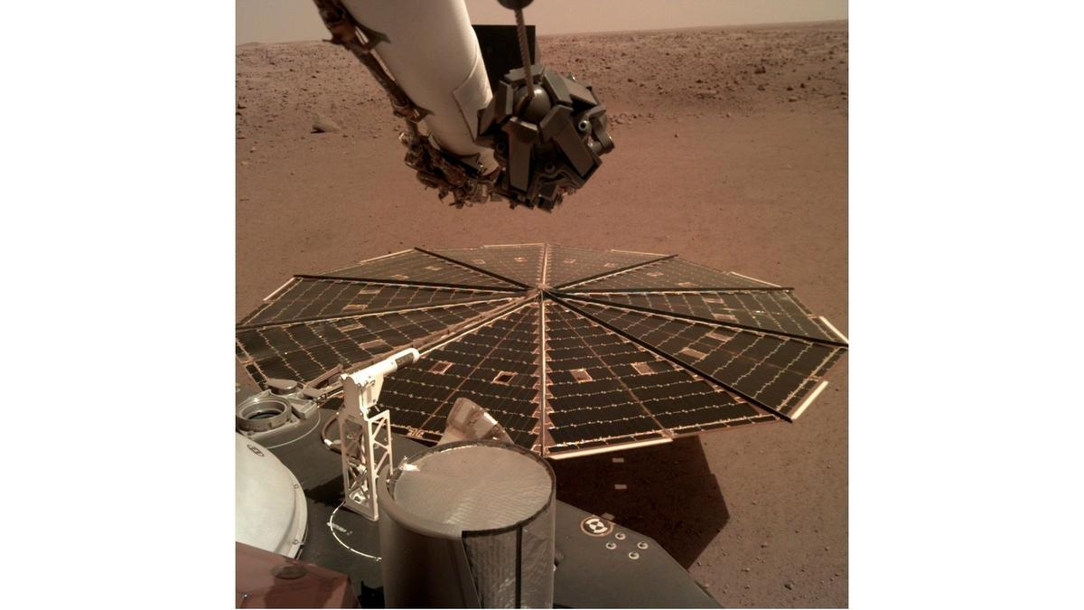 New NASA lander captures first sounds of Martian wind