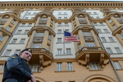 'Russian spy' caught working at US embassy