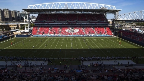 Argos well aware of turf issues at BMO field, says CFL commissioner