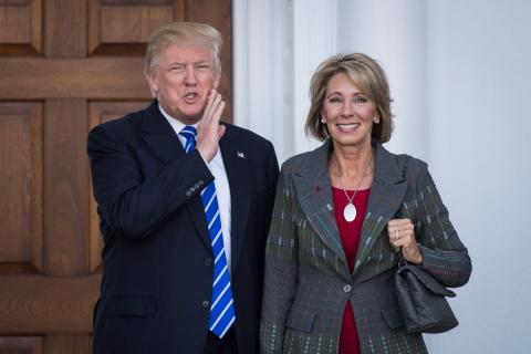 Trump appoints 'true enemy' of public schools