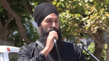 Jagmeet Singh defends appearance at Sikh independence rally
