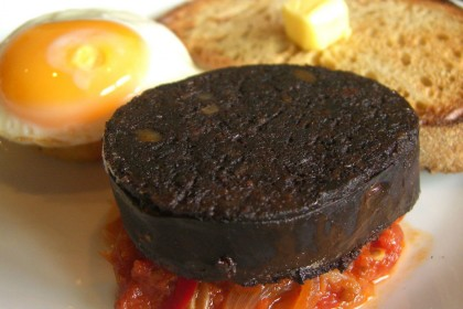 'Black pudding saved my life', says trapped butcher