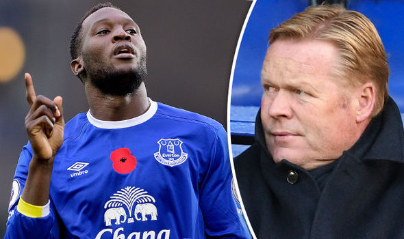 Ronald Koeman tells Romelu Lukaku to leave Everton: Chelsea and Man Utd put on red alert