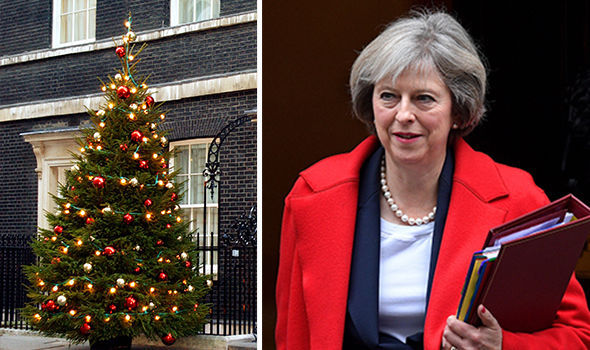 Christians should 'SPEAK FREELY' about their faith ahead of Christmas, Theresa May says
