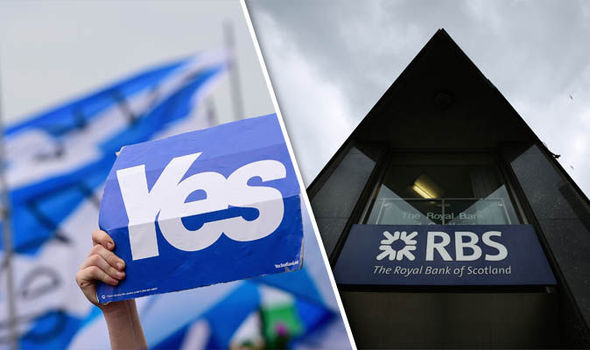 Scottish Independence 'bigger threat to banking than Brexit'
