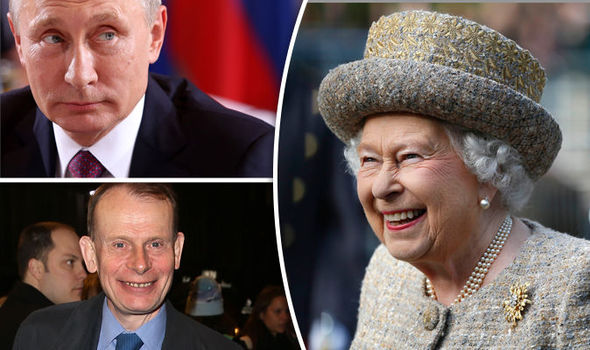 Queen 'confused Vladimir Putin with Andrew Marr' during state visit