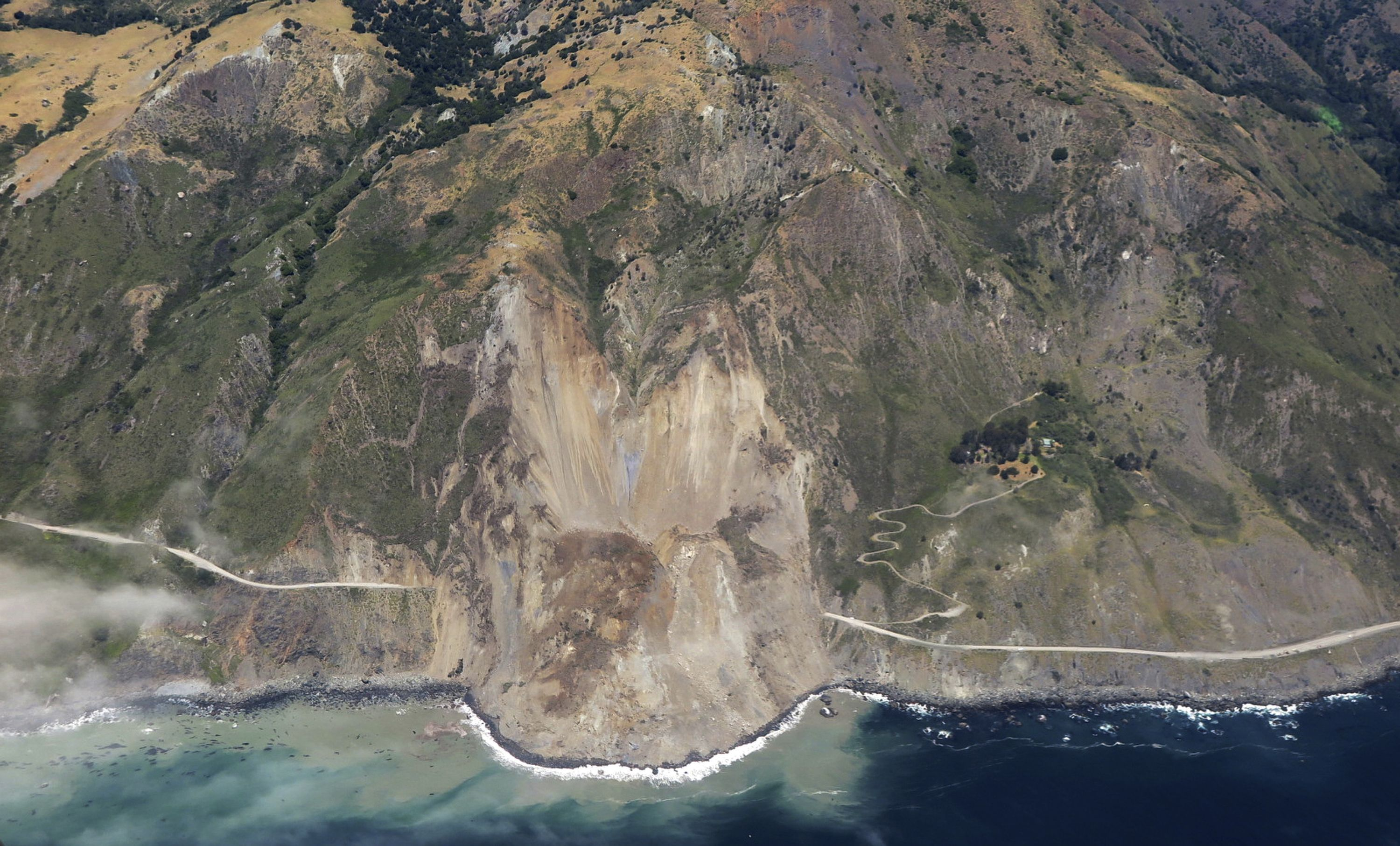 Pacific Coast Highway near Big Sur to reopen in July