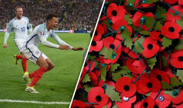 England and Scotland to DEFY poppy ban at tonight's World Cup qualifier as Wales refuses