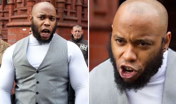 Islamic street preacher guilty of abusing woman he called 'SLUT' for wearing tight jeans