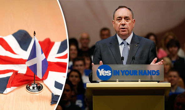 Alex Salmond pledges to hold a second independence referendum by 2018