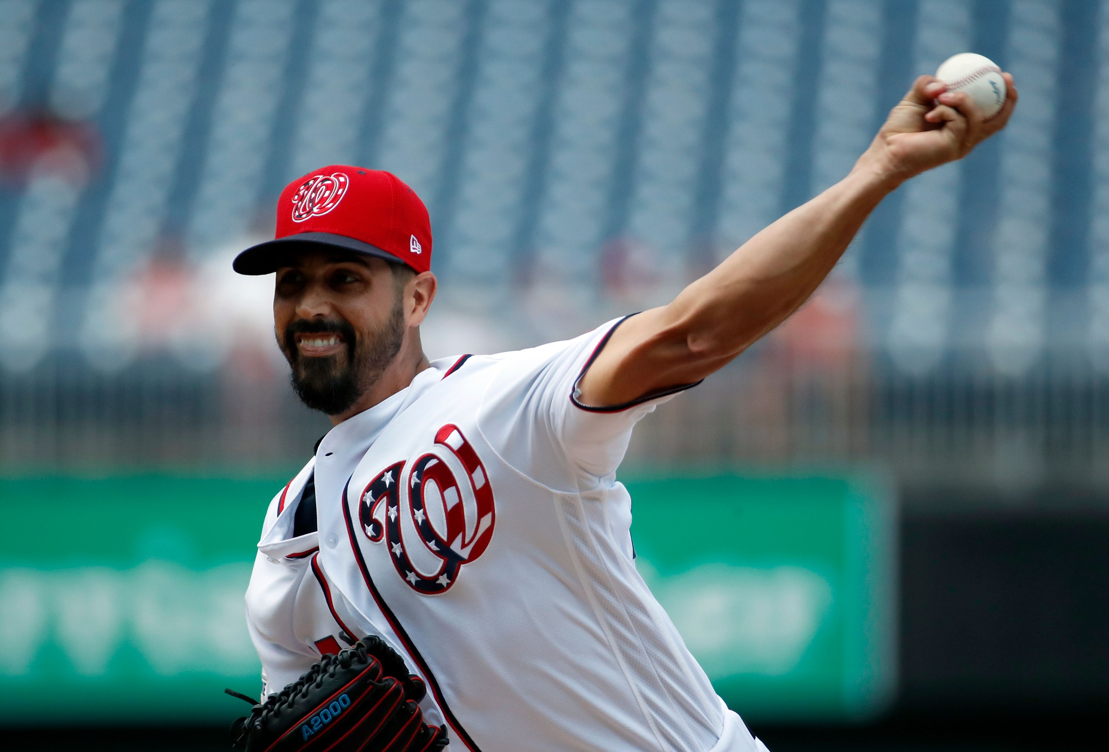 Nationals top Braves 6-3, Gio Gonzalez ends personal skid