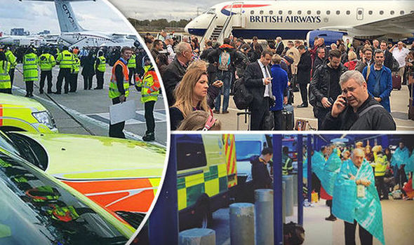 BREAKING: Man arrested over chemical alert at London City Airport