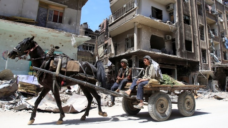 Chemical weapons inspectors enter Syrian town of Douma, state news agency says