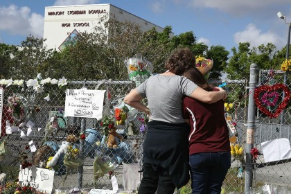 Dunblane families send letter of support to Parkland survivors