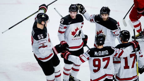 Ryan O'Reilly's OT winner sinks Russia as Canada advances to world semifinals