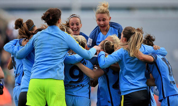 Manchester City beat reigning champions Chelsea to claim first Women's Super League title